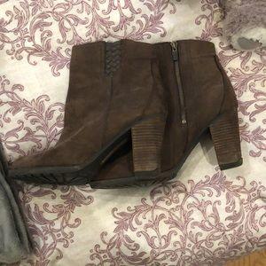 Timberland heeled booties!